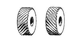 Ролик для накатки сетчатых рифлений 0,8мм к-т из 2 шт, (20*6*6мм)